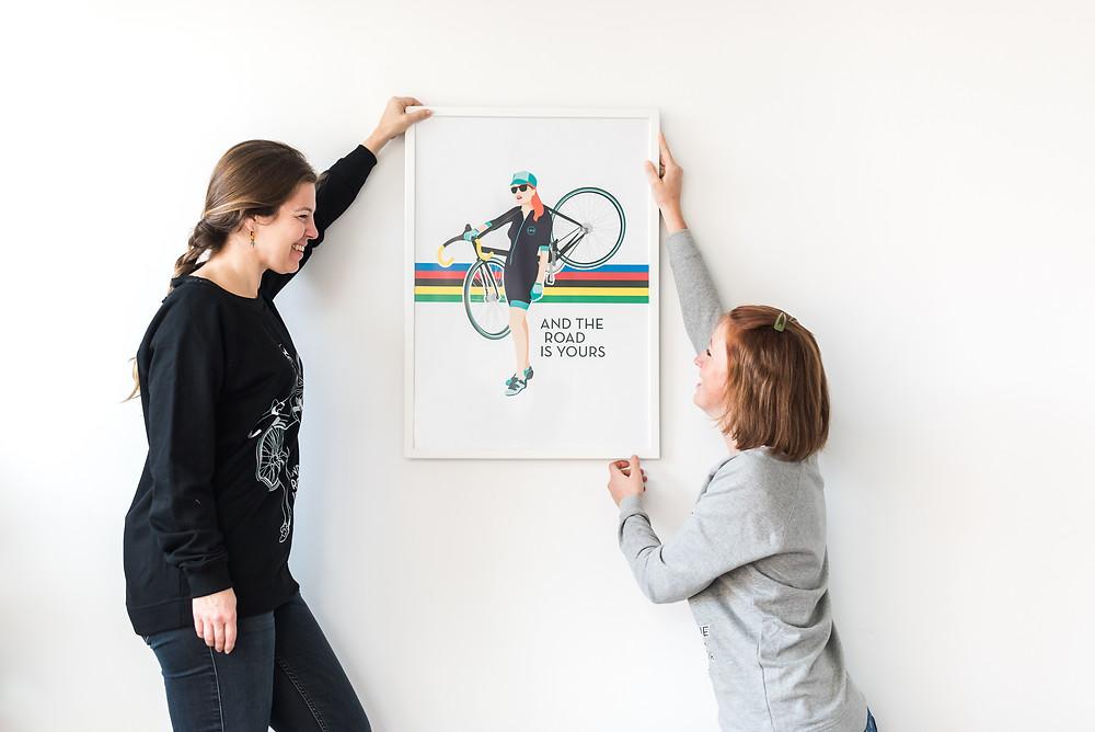 Little Black Bike - casual collection (c) Silvie Bonne