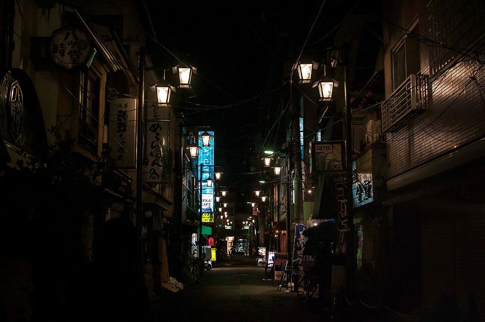 Tokyo by night (c) Silvie Bonne