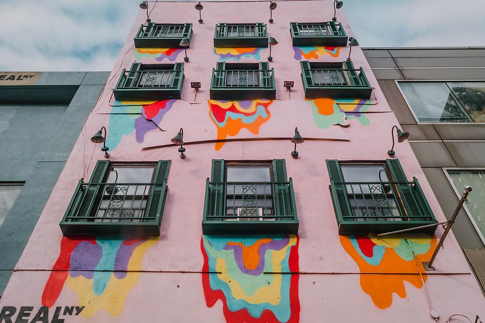 Pink Facade by @jondotleo (c) Silvie Bonne