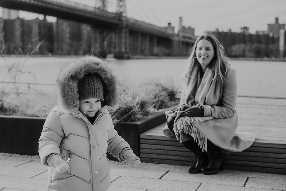 NYC Family Shoot in Williamsburg (c) Silvie Bonne