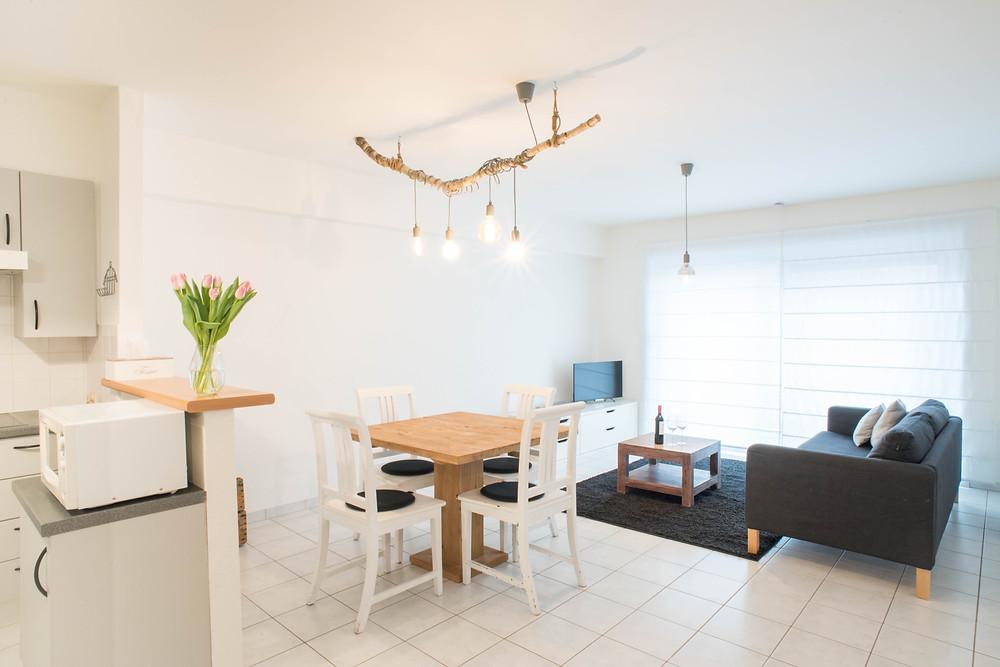 Airbnb appartement Oostende (c) Silvie Bonne