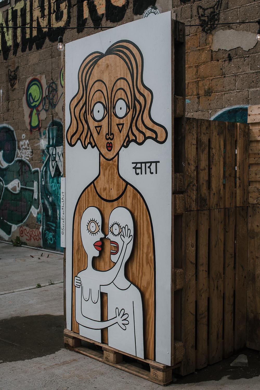 Sara Erenthal Street Art (c) Silvie Bonne