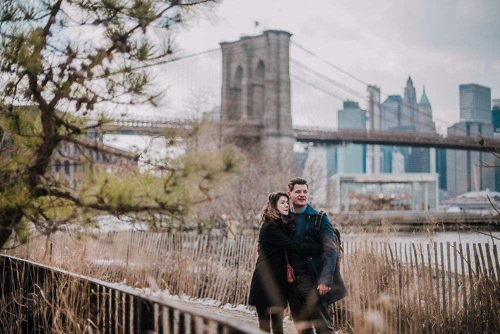 NYC Photo Shoot Walk in Dumbo (c) Silvie Bonne