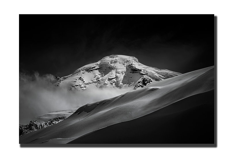 """Mt. Baker 16""""X24"""" Canvas Standout"""