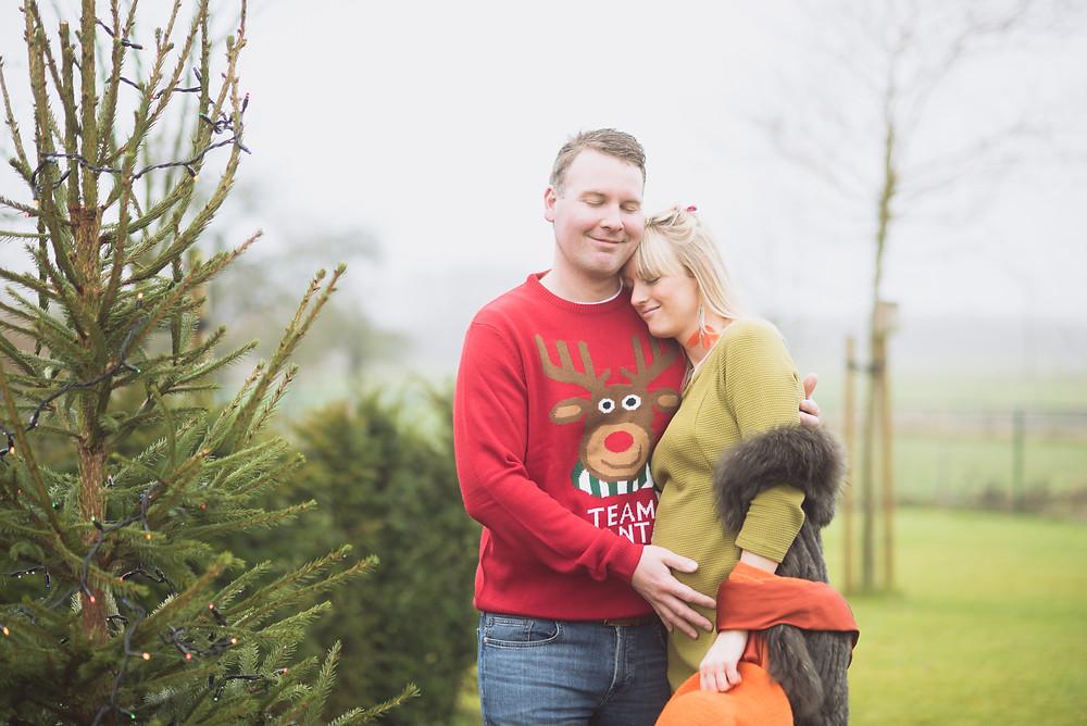 Sharon & Lieven Kerstsessie (c) Silvie Bonne