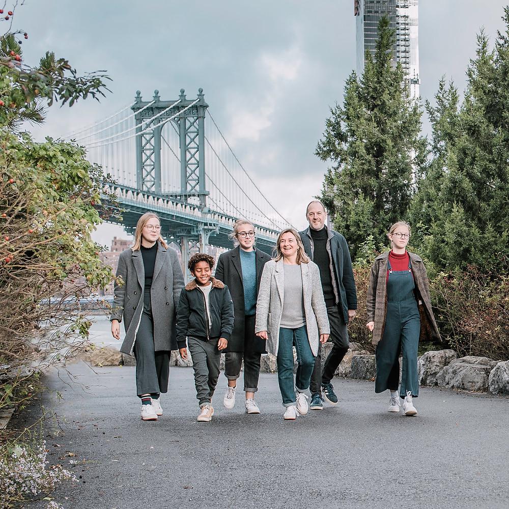 NYC with Teens - Photo Walk in Dumbo (c) Silvie Bonne