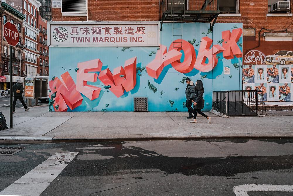 New York Mural (c) Silvie Bonne