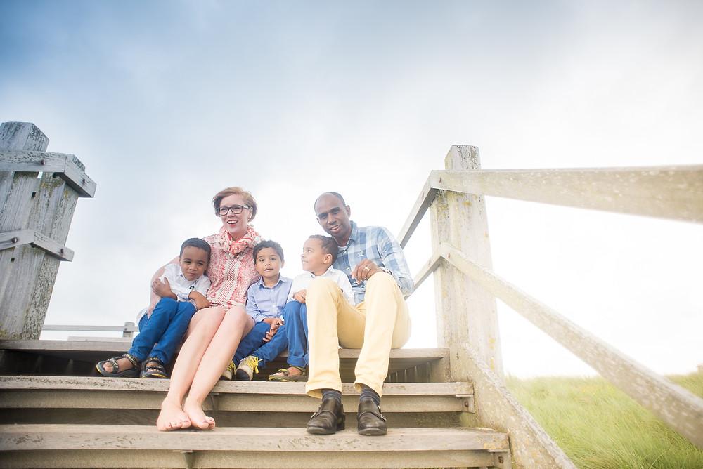Familiereportage aan zee (c) Silvie Bonne