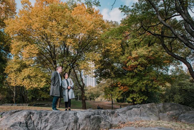Fotowandeling in Central Park