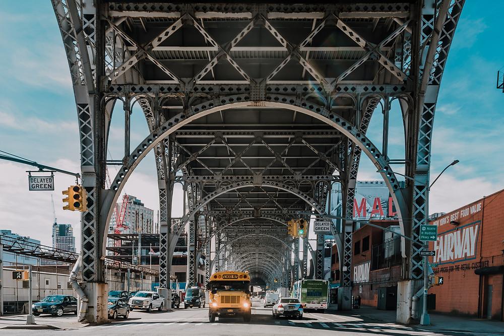 Riverside Drive - Harlem (c) Silvie Bonne