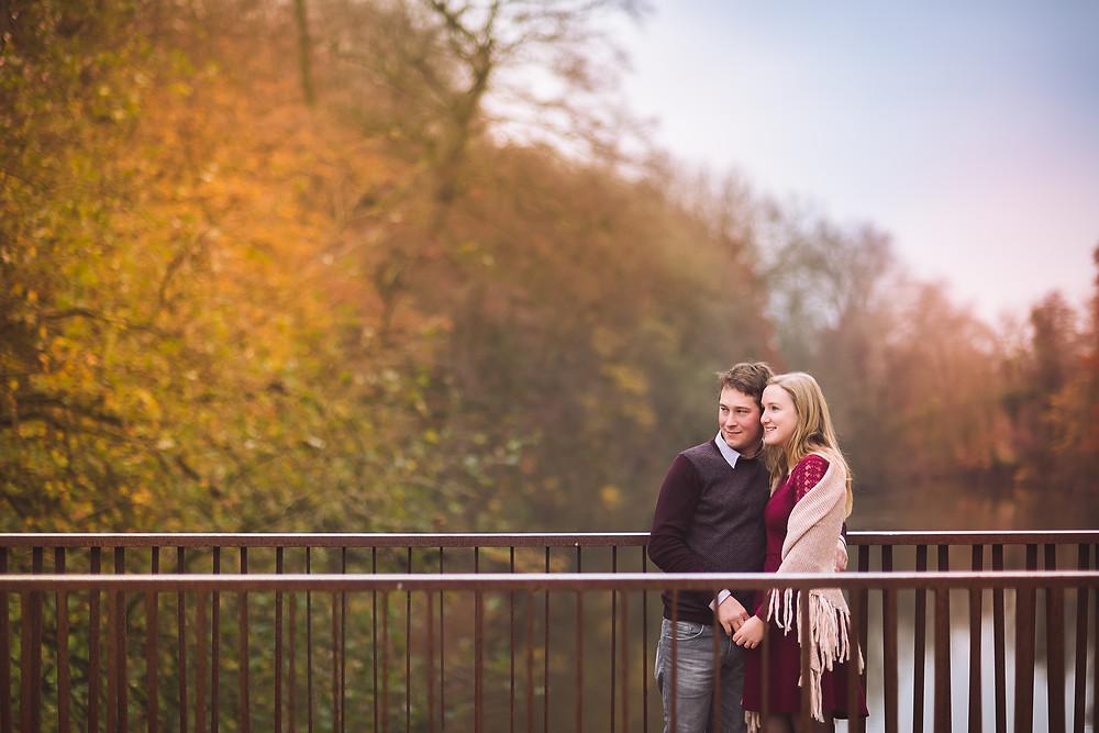 Save The Date fotosessie in Brugge  (c) Silvie Bonne