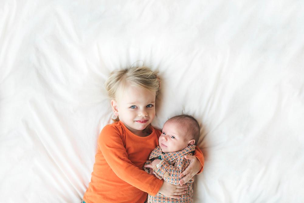 Broer & zus fotoshoot (c) Silvie Bonne
