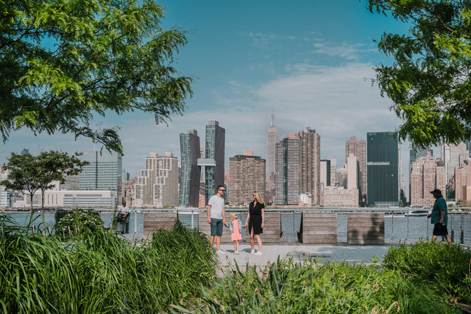 Familie reportage in Long Island City