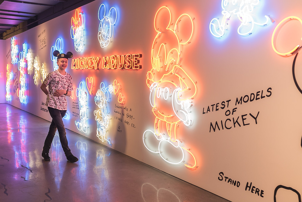 Mickey The True Original Pop Up (c) Silvie Bonne