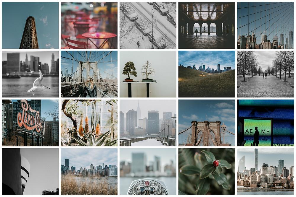 New York Collage (c) Silvie Bonne