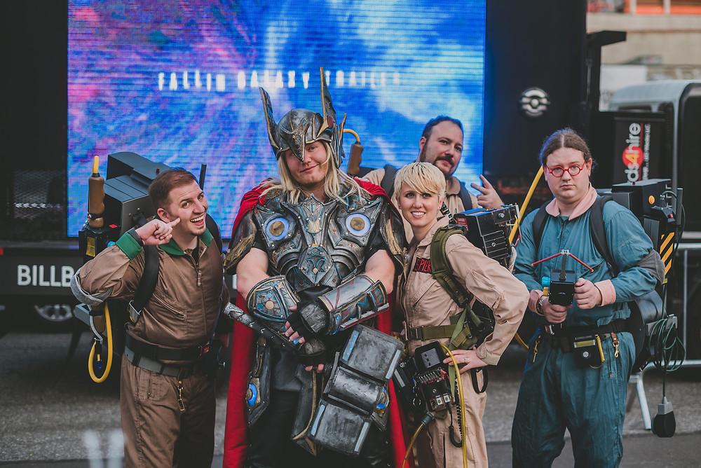 New York Comic Con (c) Silvie Bonne