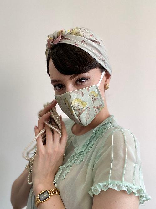 'Violent Femme' Face Mask