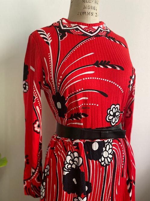 Vintage 1970's Paganne Dress Gene Berk