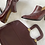 Thumbnail: Vintage Leather Oxford Pumps Size 10