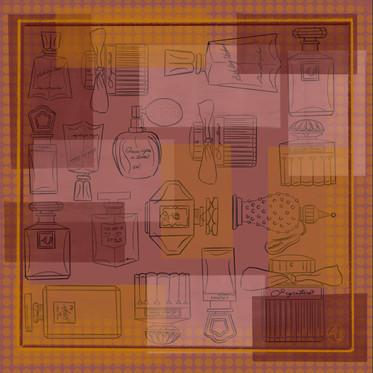 'Signature Scent'. Digital Illustration
