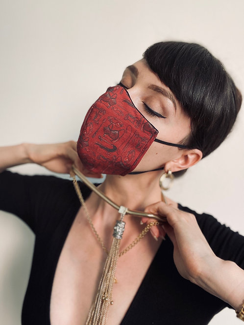'BDSM' Reusable & Reversible Face Mask