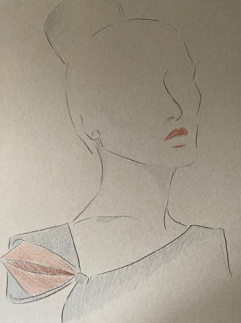 Minimalist Fashion Sketch