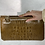 Thumbnail: Vintage 1950s Alligator Leather Clutch by Caprice