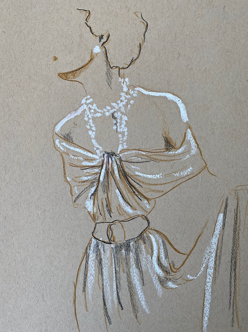Original Fashion Sketch