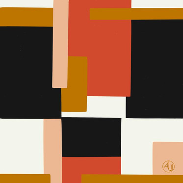 'Modernist'. Digital Illustration