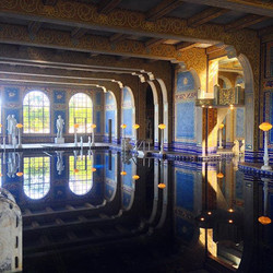 Shot on iphone 5. Hearst Castle.