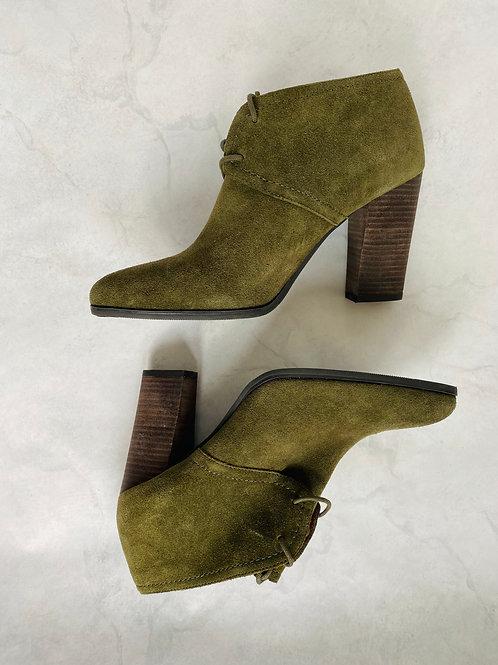 Franco Sarto Suede Booties Size 9