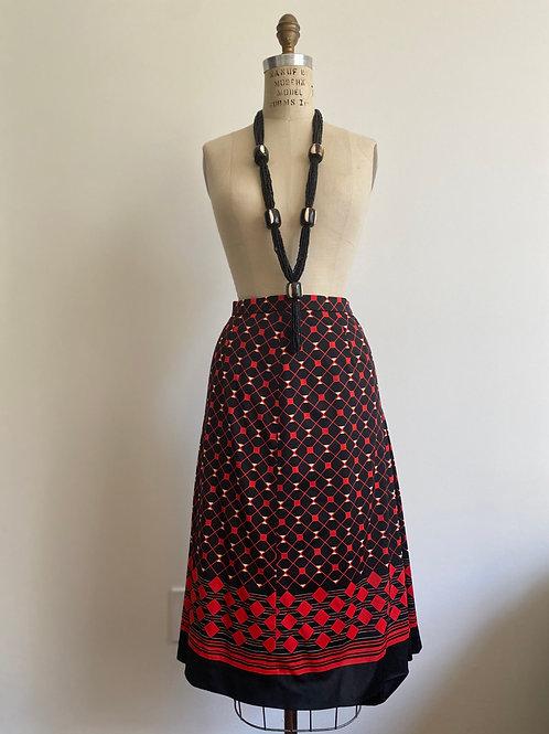 Vintage 1960s Dead Stock Japanese Skirt Mod