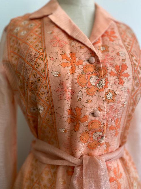 Vintage 1970's Alfred Shaheen Resort Dress