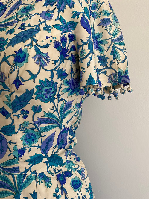 Vintage 1960's Floral Print Dress