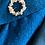 Thumbnail: Vintage 1950's Pencil Dress Boucle Wool Medium