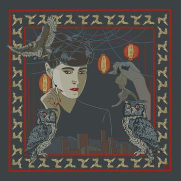 'Replicant'. Digital Illustration