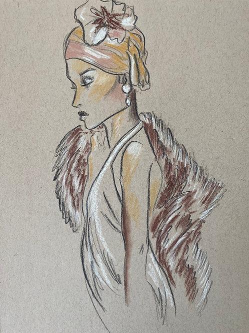 Original Fashion Sketch