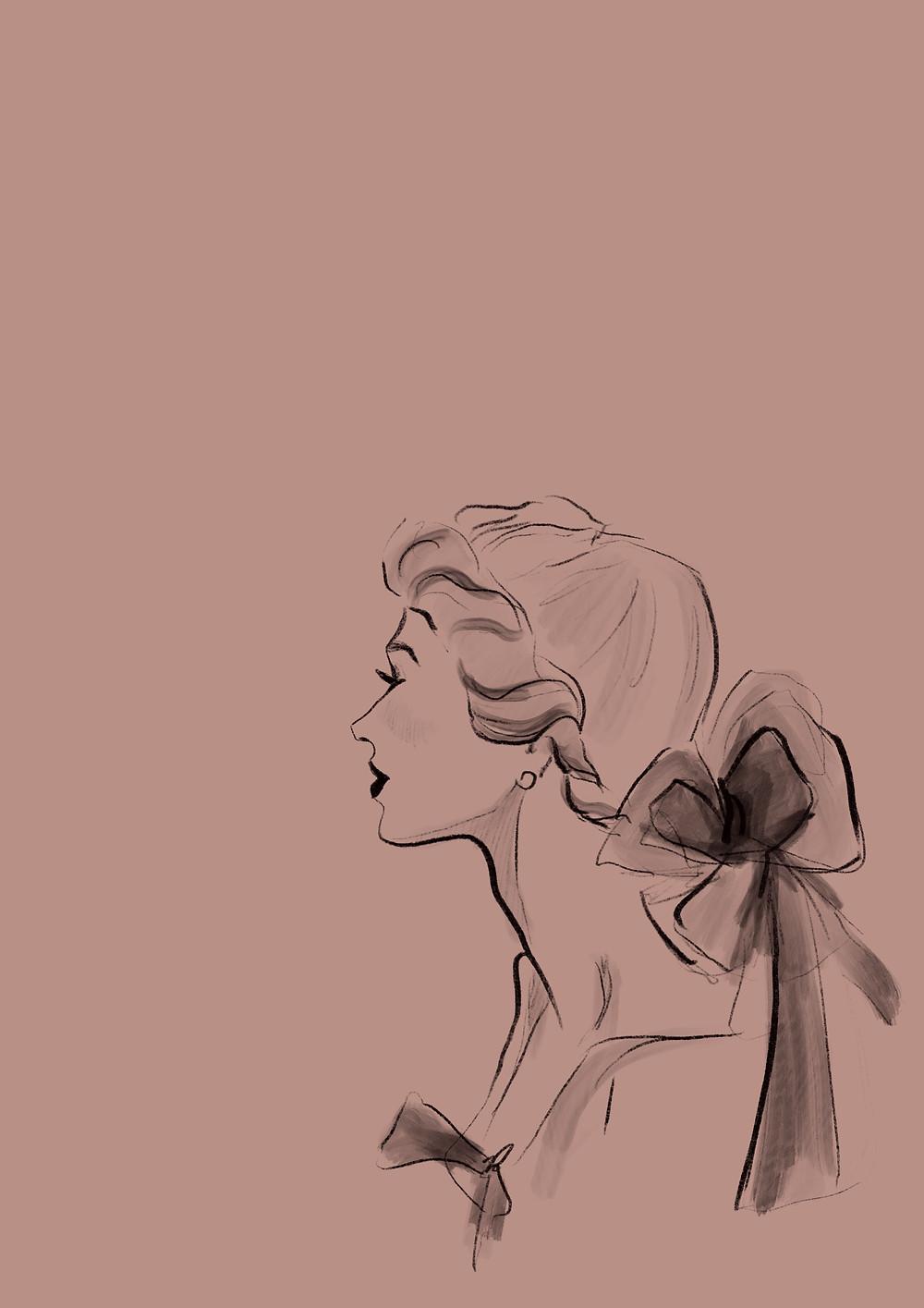 rene gruau, fashion illustration