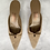 Thumbnail: Dead Stock Ferragamo Kitten Heels Size 8.5