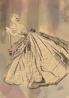 Study of a De Marche Illustration