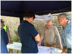 Neighbourhood Plan team at Yetminster Fair, July 2016
