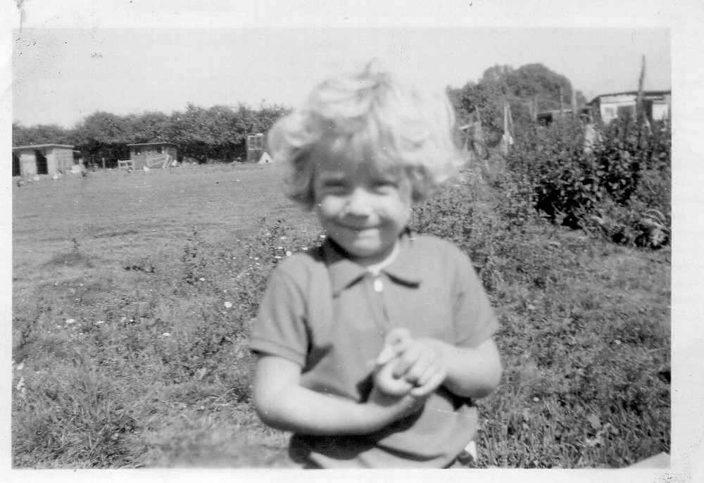 Jan Millward childhood photograph