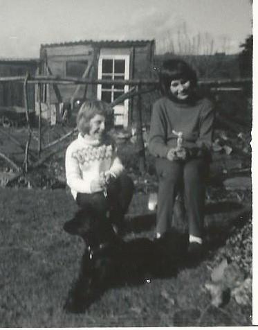 Jan Millward childhood photograph
