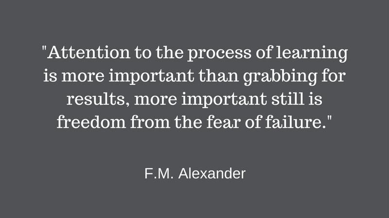 Alexander Technique quotation, F M Alexander