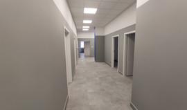 Lokalizacja: Chorzów Łączny koszt: 170 tysięcy Czas realizacji: 2 miesiące Wykonane prace: - murowanie ścian nośnych/działowych - kompleksowe wykonanie łazienek - wykonanie instalacji (elektrycza/hydrauliczna/klimatyzacja) - wykonanie sufitu typu armstrong - glazurnictwo - montaż drzwi - malowanie - wykonanie gładzi gipsowych - zabudowy g/k od strony okien