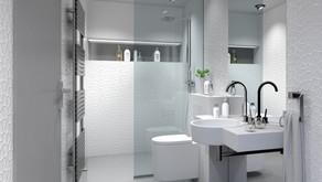 Jakie kafelki do naprawdę małej łazienki?