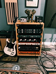 Microphone Preamp Rack