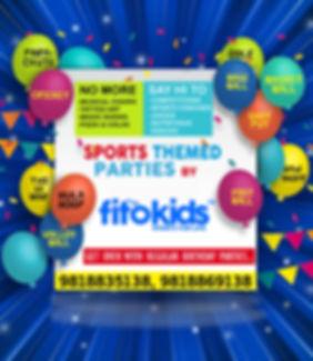 Sports Birthday Parties at Fitokids