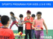 After School Evening Activity Sports Classes for kids 2.5-9 Years