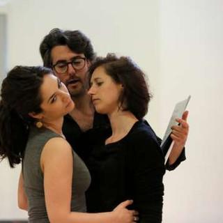 Francesca Aspromonte, Jean Bellorini and Susanna Hurrell